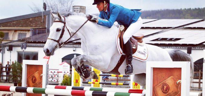 Luciana Diniz tem um novo cavalo nas suas boxes (VÍDEO)