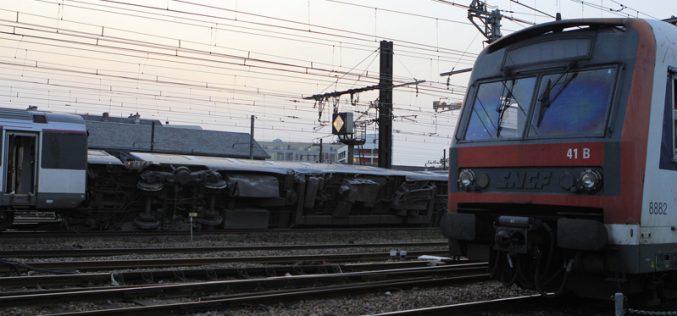 Comboio Intercidades parado devido ao atropelamento de cavalos