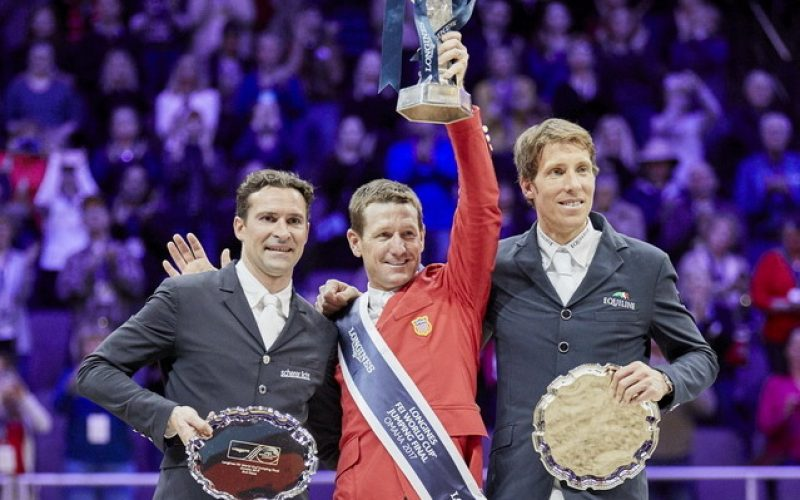 Dream finish for Ward as he lifts Longines FEI World Cup™ in Omaha