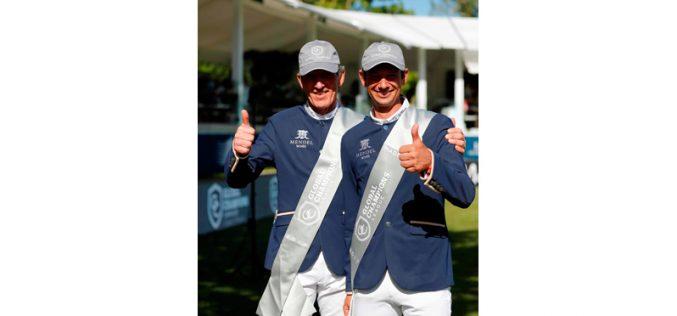 Beerbaum e Kutscher falam de técnicas e vitórias à medida que GCL prossegue