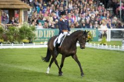 Australia's Olympic medallist Christopher Burton takes dressage lead with Graf Liberty at Badminton