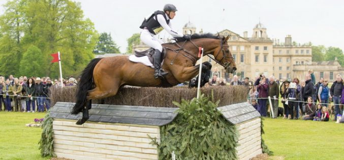 Olympic silver pair Ingrid Klimke (GER) and Horseware Hale Bob snatch lead after Badminton cross country