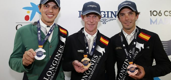 9 out of World's Top 10 amongst Cavalcade of Stars for LGCT Madrid