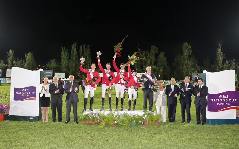 CSIO3* Lisbon: Team Belgium wins in Lisbon