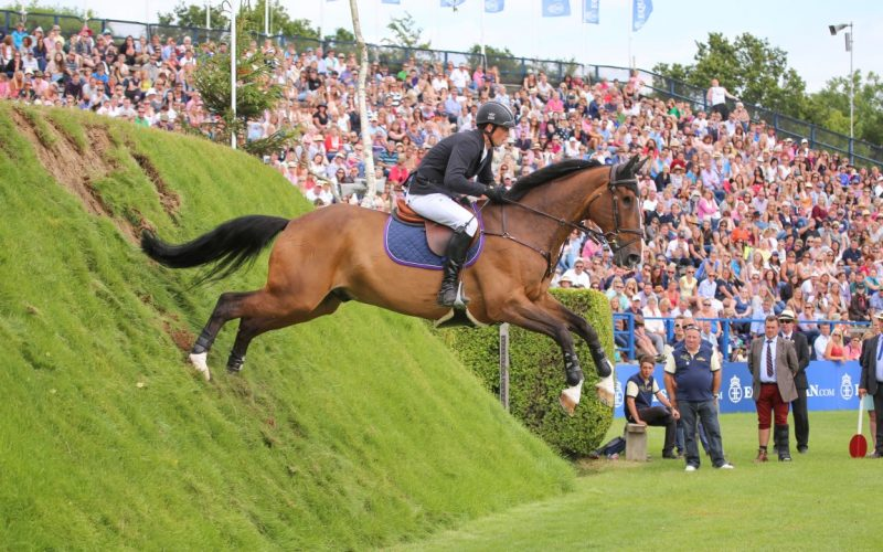 The one-eyed wonder horse Adventure De Kannan to be retired at this year's Al Shira'aa Hickstead Derby Meeting