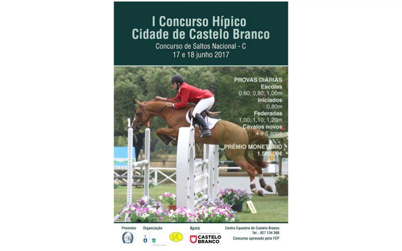 I Concurso Hípico Cidade de Castelo Branco – Junho