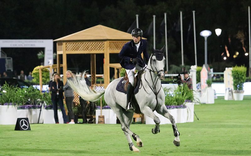 CSI5* Cascais : Martin Fuchs vence 1ª classificativa do Global Champions League