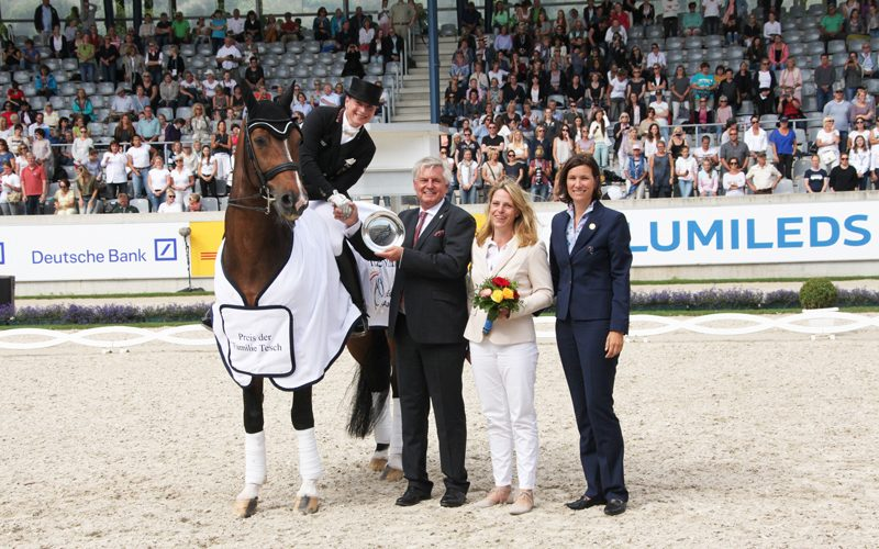 German dressage riders superior in the Prize of the Tesch Family