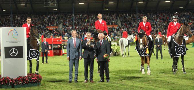 CHIO Aachen: Alemanha vence pela segunda vez consecutiva a Taça das Nações Mercedes-Benz