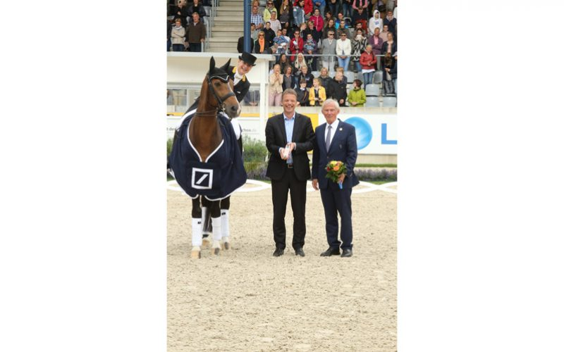 The Dressage Queen, Isabell Werth, enchanting in the Deutsche Bank Prize