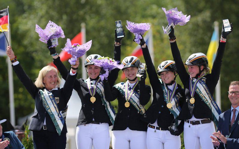 CH-EU-J&YR Millstreet: Alemanha dominou o europeu da juventude; Joaquim Grave em 33º lugar