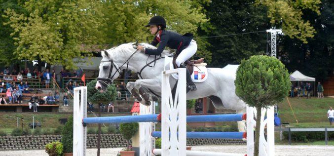 CH-EU-P-S Kaposvar: Camille Favrot vence 1ª classificativa; Molly Bravo em 30º lugar