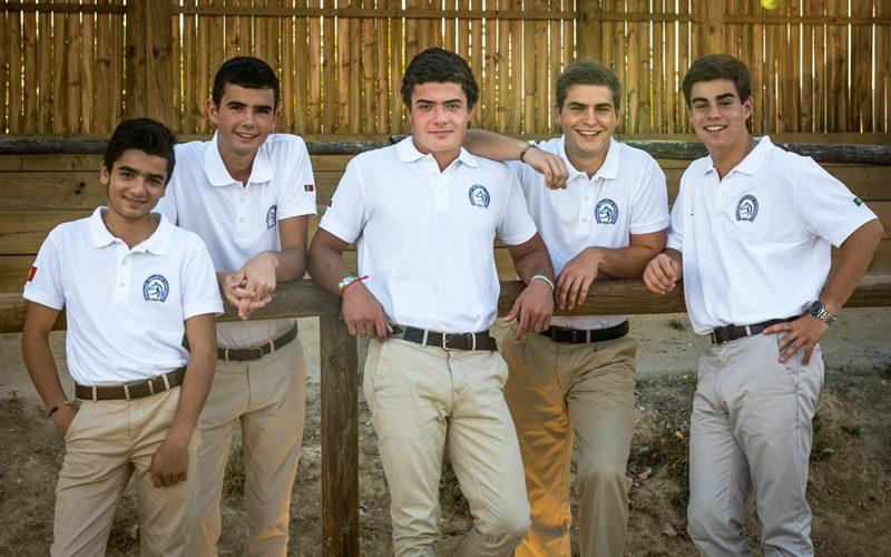 5 Jovens atletas portugueses no Europeu de Dressage 2017