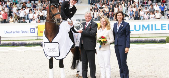 CDIO5* Aachen: Alemanha lidera Taça das Nações de Dressage