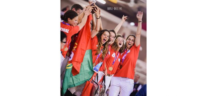 Europeu de Horseball 2017: Portugal conquista Medalha de Bronze na categoria Ladies