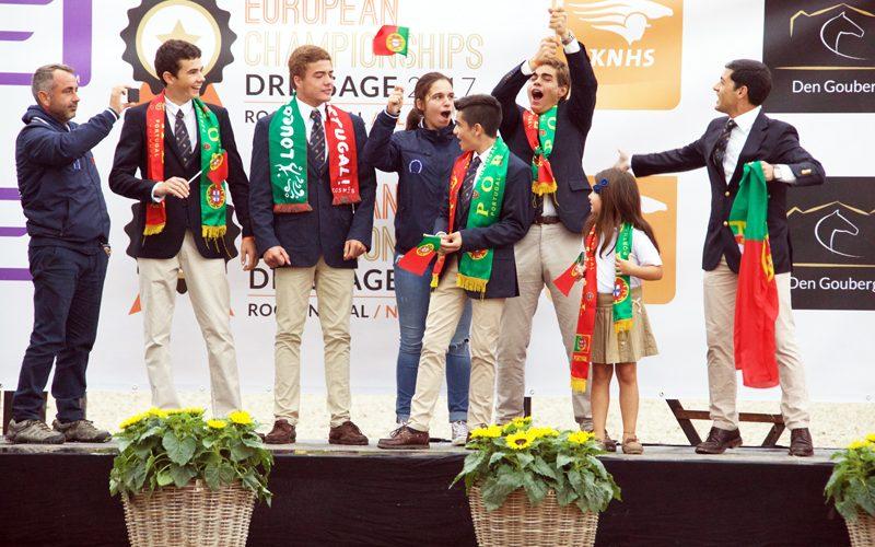 Campeonato Europeu da Juventude já começou em Roosendaal