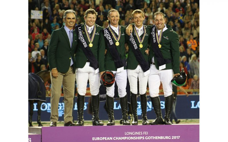 Ireland crowned European Show Jumping champions after golden night in Gothenburg