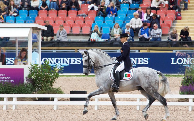 Portugal brilhou no Europeu de Dressage 2017
