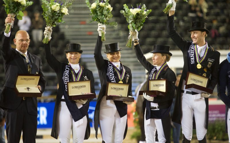 Longines FEI European Championships: Dressage team gold for Germany once again (VIDEO)