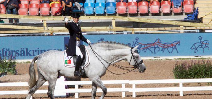 Europeu de Dressage 2017: Maria Caetano Couceiro / Coroado AR pontuou 70,560% no G.P. Especial (22º lugar)