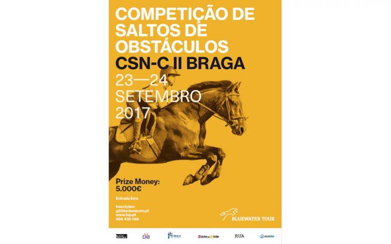 Centro Hípico de Braga recebe o Bluewater Tour em Setembro