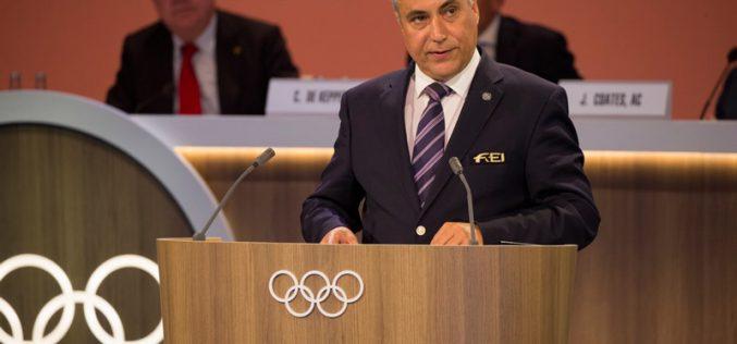 Presidente da FEI eleito membro do Comité Olímpico