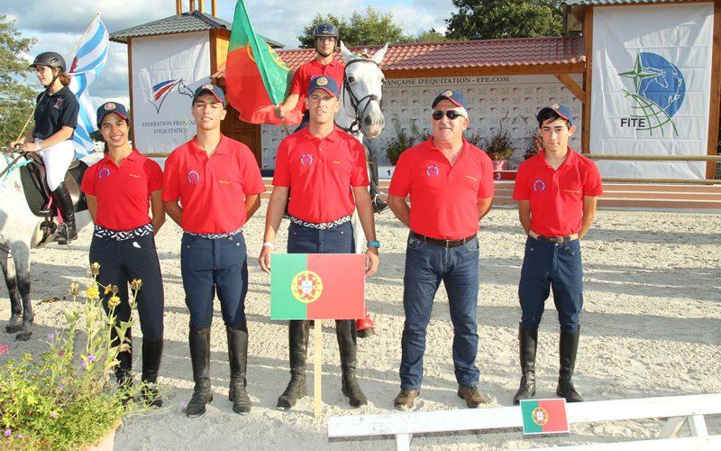 Portugal no Campeonato da Europa de TREC 2017 – França