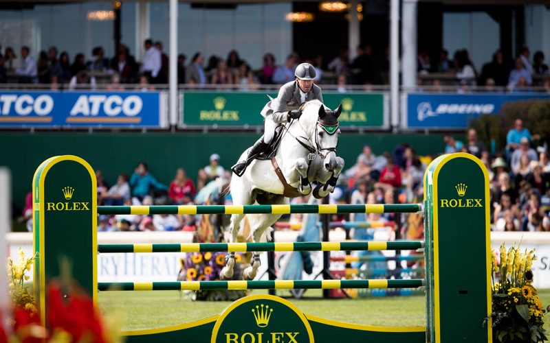 The Rolex Grand Slam of Show Jumping has begun again for Philipp Weishaupt (VIDEO)
