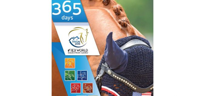 One Year Until FEI World Equestrian Games™ Comes to  North Carolina, USA (VIDEO)