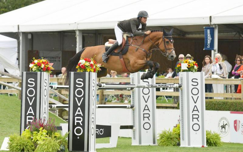 Three Times a Winner for Daniel Bluman, after taking the $300,000 Hampton Classic Grand Prix CSI****