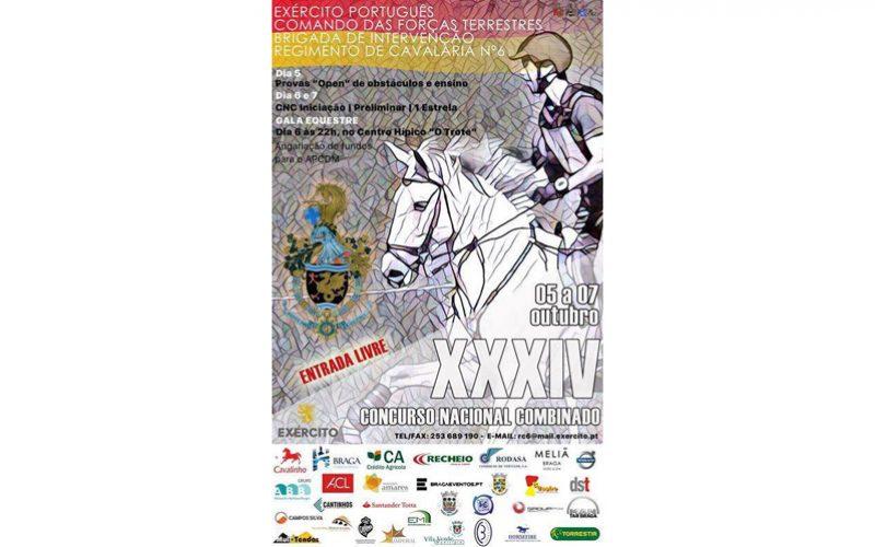 Regimento de Cavalaria organiza Concurso Nacional Combinado – Braga