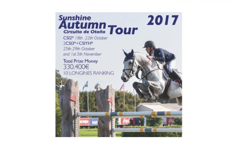 Sunshine Tour: Cancelado o Circuito de Outono 2017