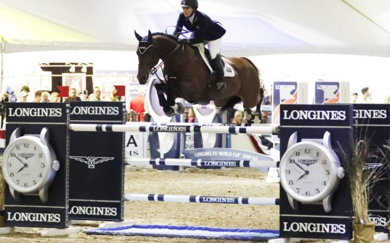 Mandy Porter Records Emotional Longines Victory in Sacramento (VIDEO)