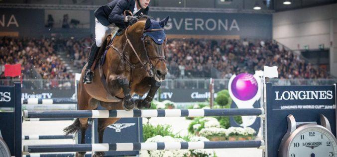 CSI5*-W Verona: Maikel van der Vleuten ganha o Grande Prémio Taça do Mundo em Itália (VÍDEO)
