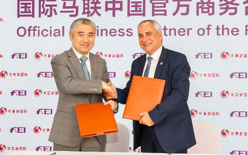 FEI partners with China National Sports International for equestrian growth