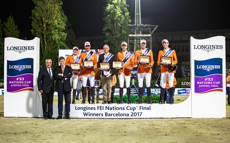CSIO5* Barcelona: Holanda ganha a final da Taça das Nações Longines FEI 2017
