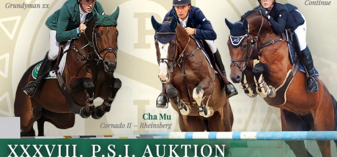 XXXVIII. P.S.I. Auction Jumping Collection online!
