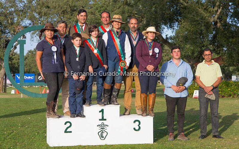 Bernardo Losa, Jorge Baixo e Ana Cristina Guerreiro revalidam o título de campeões nacionais de Atrelagem