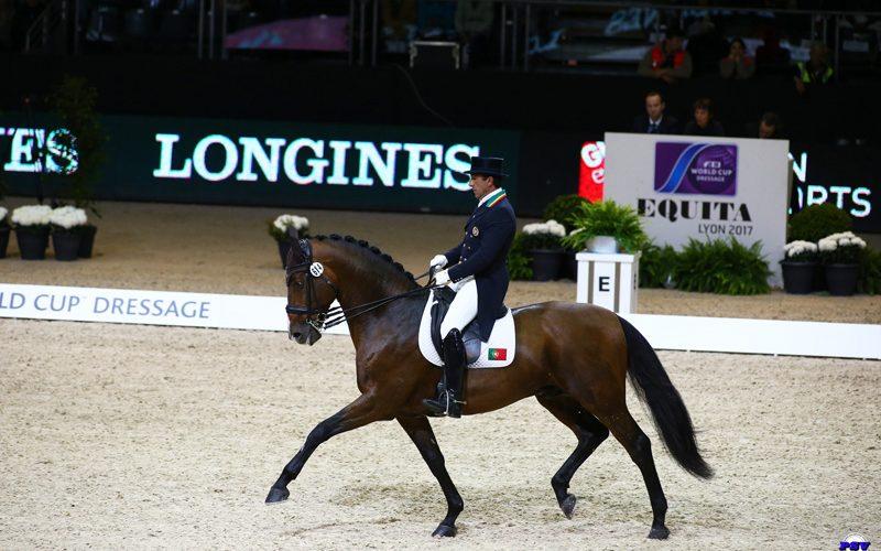 CDIW-Lyon: A lenda do desporto equestre conquista o G.P. Freestyle com 86,115% – Daniel Pinto pontoou 74,220% (VÍDEO)