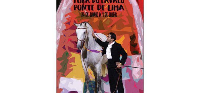 Feira Nacional do Cavalo da Golegã apresenta a imagem 2018 da 12ª Feira do Cavalo de Ponte de Lima