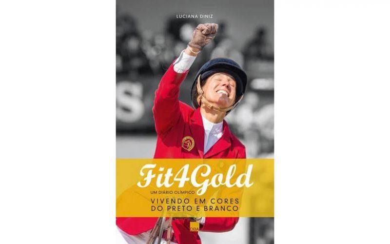 "Luciana Diniz lança o livro ""Fit 4 Gold"" no Brasil"