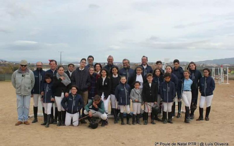 Resultados: Escola Equestre Picadeiro Tavares Ramos – 2ª Poule de Natal