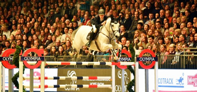 Top class sport at Olympia: Irish eyes are smiling again…