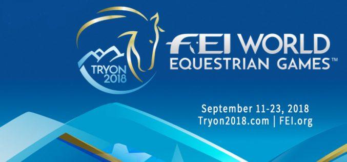 Jogos Equestres Mundiais – Tryon 2018 | Programa 11 a 23/9