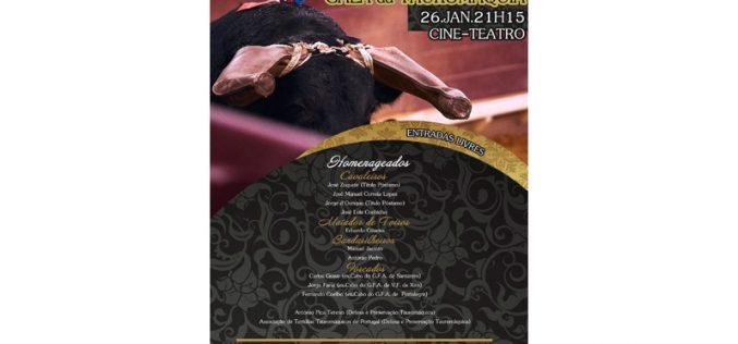 Clube Taurino de Alter do Chão promove Gala da Tauromaquia