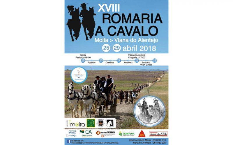 Romaria a cavalo Moita – Viana do Alentejo já tem datas