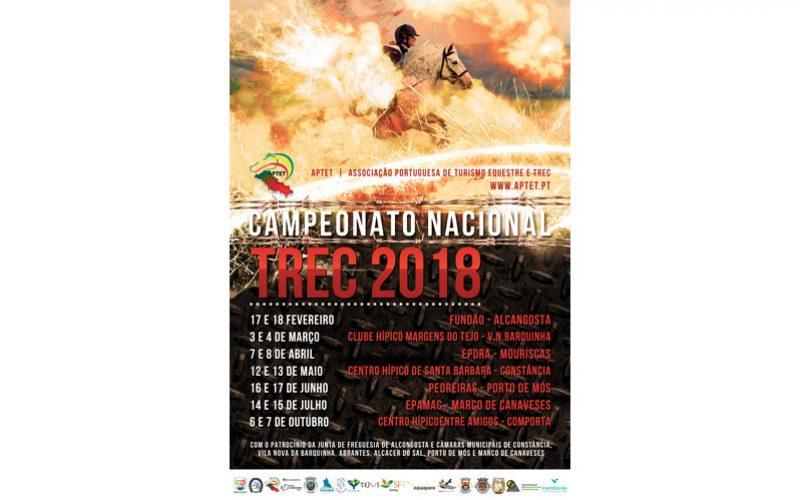Pontapé de saída do Campeonato Nacional de TREC 2018