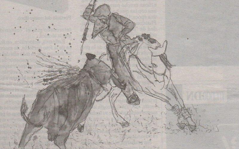 Pablo Hermoso de Mendoza inspira pintor