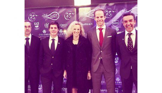 Gala do Desporto distinguiu a equipa nacional de Dressage