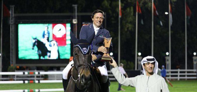 CSI4*-W: Luís Sabino Gonçalves entra com pé direito em Abu Dhabi